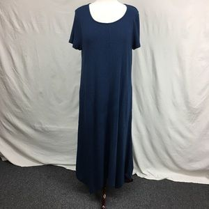 J.Jill Navy Knit Maxi Dress